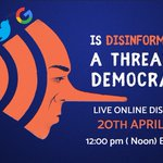 Increasingly, authoritarians utilize disinformation to pollute the information space and discredit dissent. Join Hurford Youth Fellow @risham_waseem's online discussion with @Natrani, @VladanBaEng, and @DWJ88 today for insight and possible solutions: https://t.co/l5SujWs9Aj