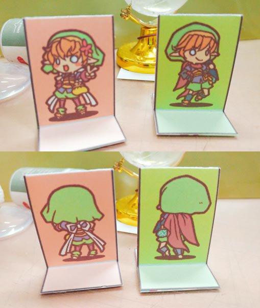 Halfling Paper miniatures samplephoto