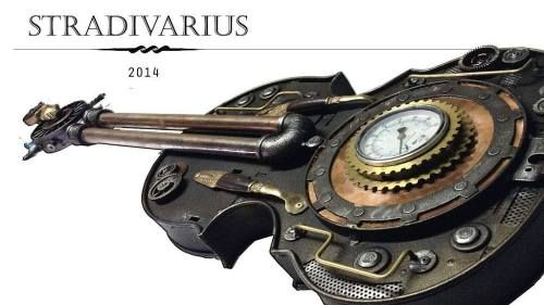 #steampunk #violin #Stradivarius style steampunktendencies • https://t.co/pVzIi7eSMO #masonarts