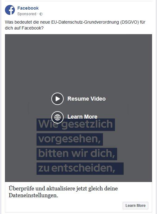 Alexander Fanta On Twitter Facebook Wirbt Gerade Intensiv Für
