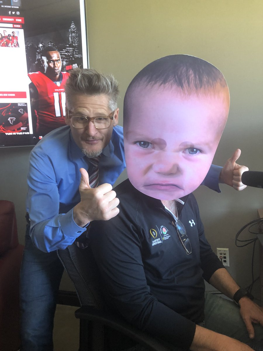 We Never Played The Game podcast with Falcons GM Thomas Dimitroff. Hey @MikeBellATL @DukesandBell929: you get kind of a shout-out in here. (Me behind mask). ajc.com/sports/footbal…