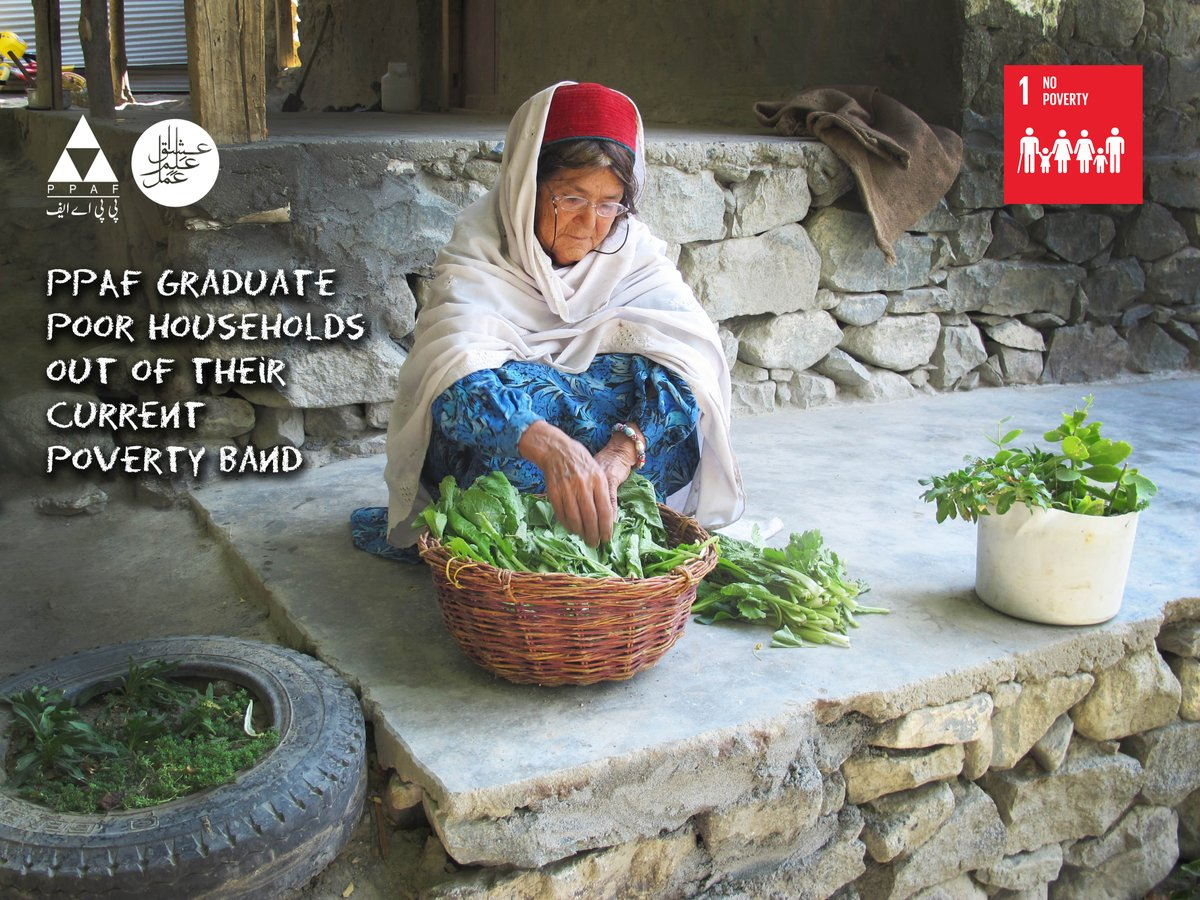 One of the Goals of PPAF is to &#39;graduate poor households out of their current poverty band'. #securingthefuture #restoringhope #endingpoverty<br>http://pic.twitter.com/dlQVnKM4pH