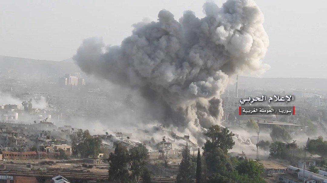 Коротко по Сирии. 20.04.2018