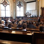 Image for the Tweet beginning: Full house at @LancashireCC for