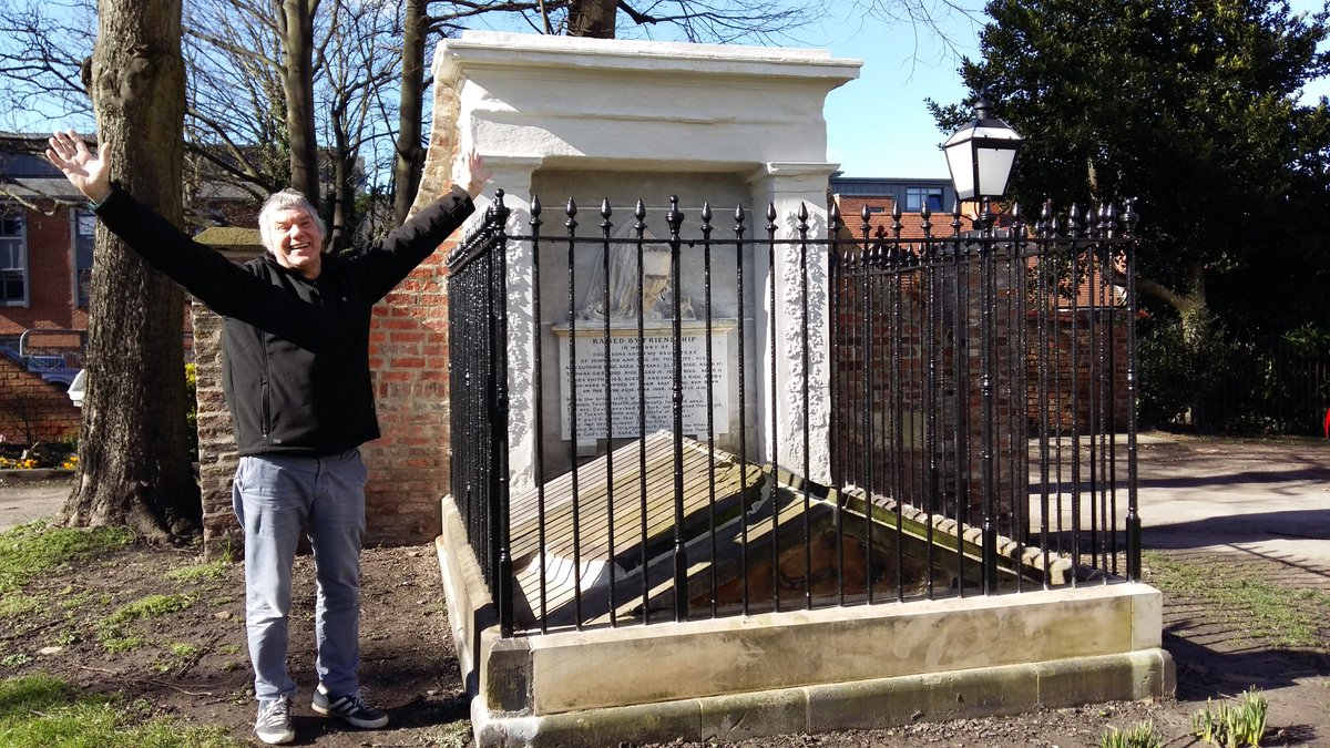 #VolunteerRecognitionDay Our volunteers carry out the work of the Trust and offer their time and expertise for free. We are very grateful to all of them. Nick Beilby leads and manages many of out City Enhancement projects. #york #heritage #conservation<br>http://pic.twitter.com/8eyywz110x