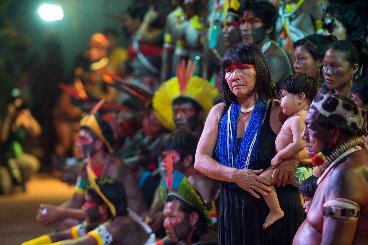 O #TardeNacional falou sobre o empoderamento da mulher indígena. Clique para ouvir: https://t.co/uLNbQ5tgJ1  📷Marcelo Camargo/Agência Brasil