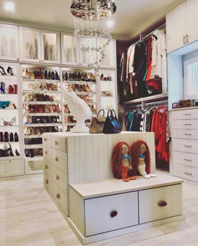 This #custom #closet Was Created For A Client In #SanAntonio, TX Who  Dreamed Of Having Her Own Boutique Like #wardrobe Space.  #CCclientstorypic.twitter.com/ ...