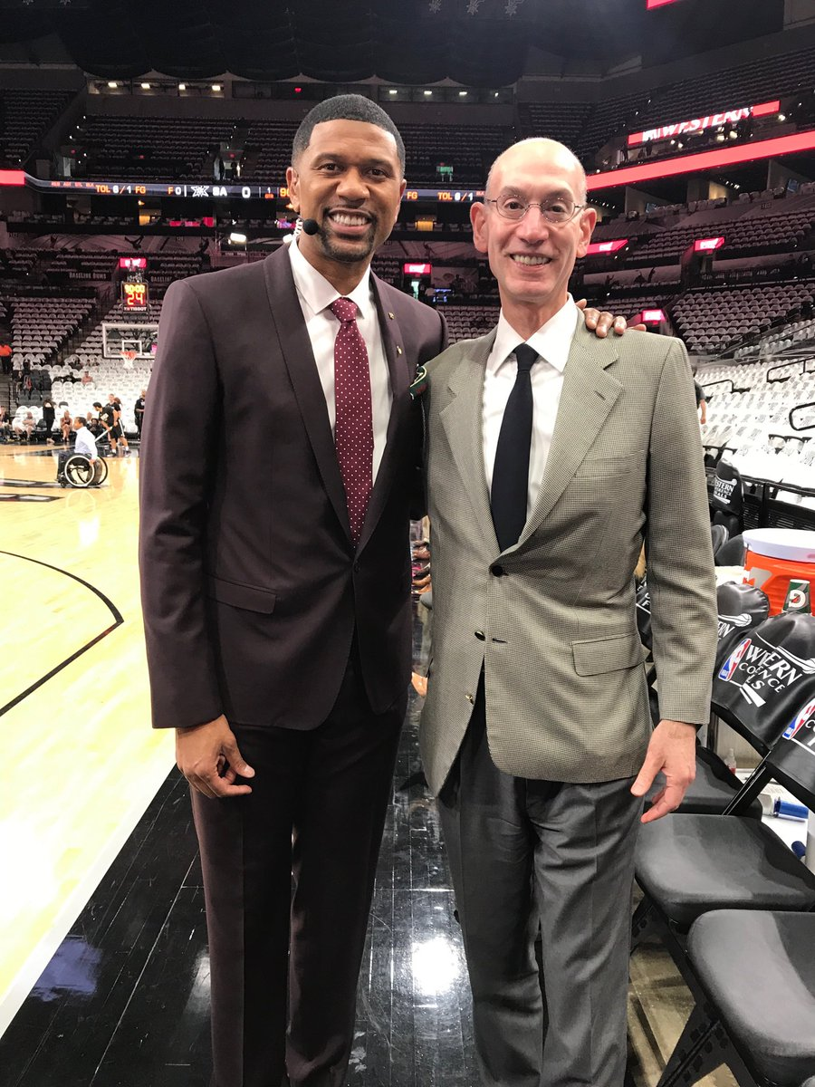 .@nba commissioner Adam Silver is joining @Get_Up next! @espn