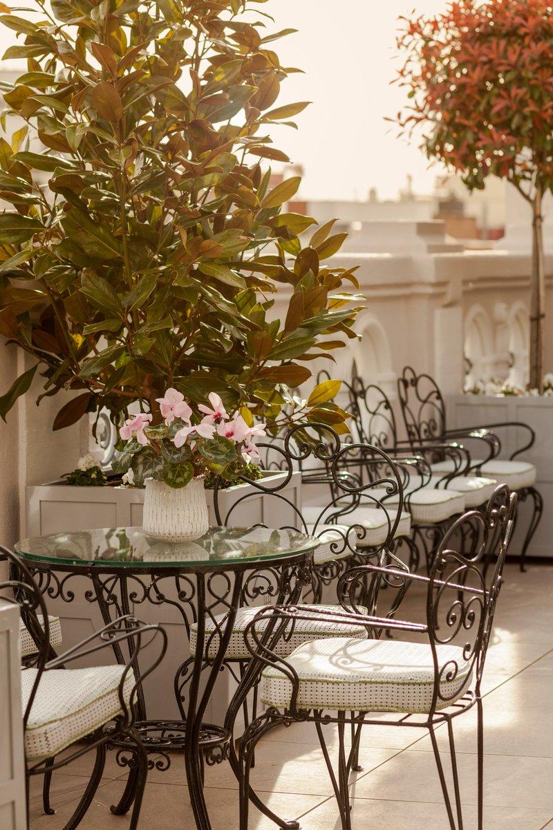 Heritage Madrid Hotel On Twitter Nuestras Terrazas En El