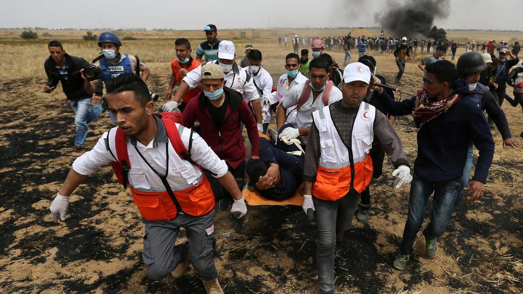 Palestinian shot dead by Israeli forces in Gaza Strip https://t.co/tqO7Z8VkRB