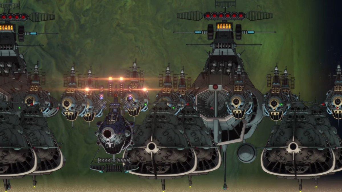宇宙戦艦ヤマト2202 大規模艦隊の壁紙