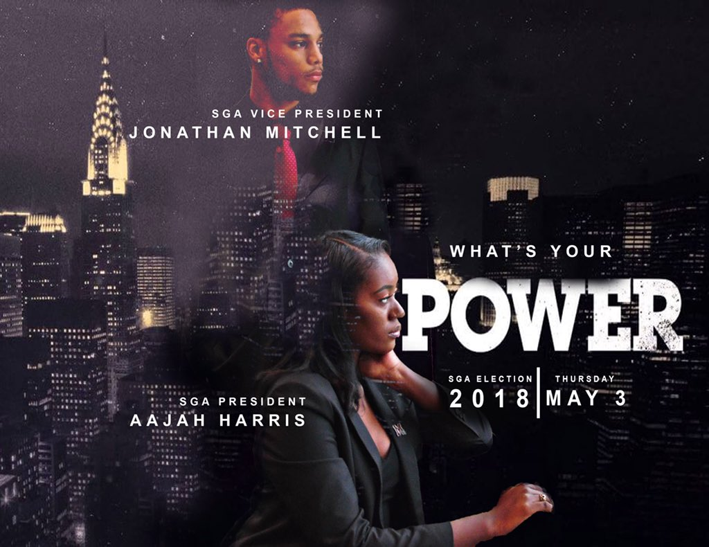 Gooooood morning  What's your POWER  The Power Administration would like for YOU to vote for US, for your next SGA President and Vice President ! #Power #ActionsSpeakLouderThanWords #MakePeopleUncomfortable #ItsAboutTime #OurSchool  #umes #umes21 #umes20 #umes19 #umes18<br>http://pic.twitter.com/2i8NNxKr1L