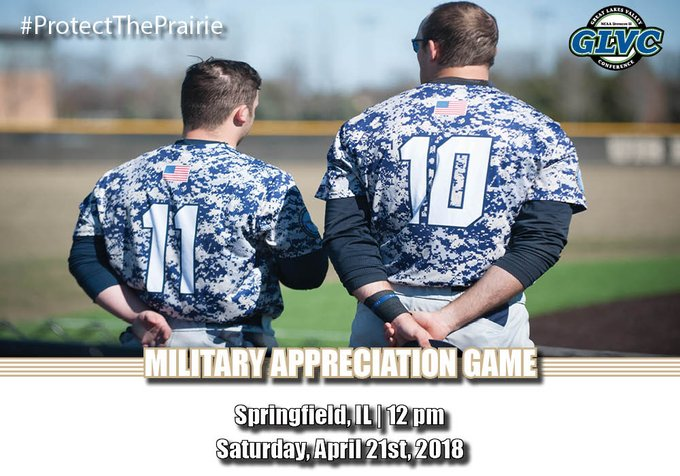 RT @UISAthletics: We are 1 Day away from @Baseball_UIS Military Appreciation Day!  Join us for a special First Pitch Ceremony with the @UIS…