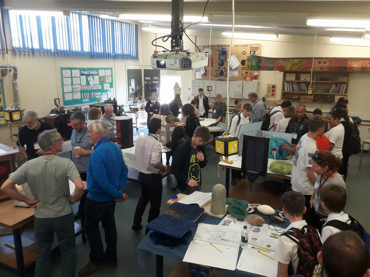 Fantastic y13 Final Product Design show #creative #careers @WyedeanSchool @WyedeanDT @wyedeancareers<br>http://pic.twitter.com/szkuwINDjH