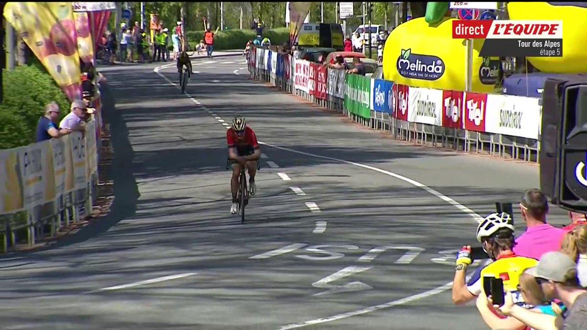 Mark Padun s'adjuge la 5e étape du Tour des Alpes et Thibaut Pinot remporte le classement général 🇫🇷💪 #lequipeVELO