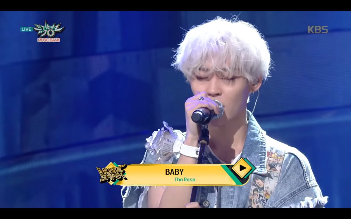 [#PERFORMANCE] MUSIC BANK - The Rose &#39;BABY&#39; •20.04.18•   https:// youtu.be/Wij_93QB8MQ  &nbsp;    #더로즈 #therose #baby #void<br>http://pic.twitter.com/PWrqBzlUzl