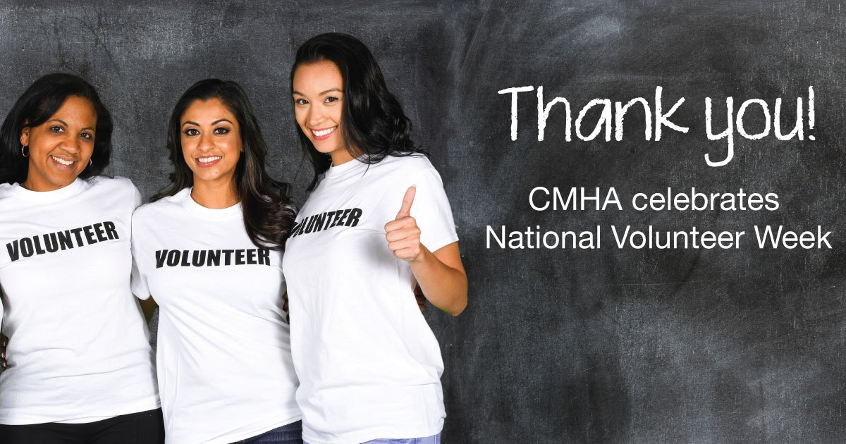 test Twitter Media - Thank you to all the CMHA volunteers who work to improve #mentalhealth care every day. https://t.co/eJc2MFaDRW #NVW2018 https://t.co/LXVQJKQoqp
