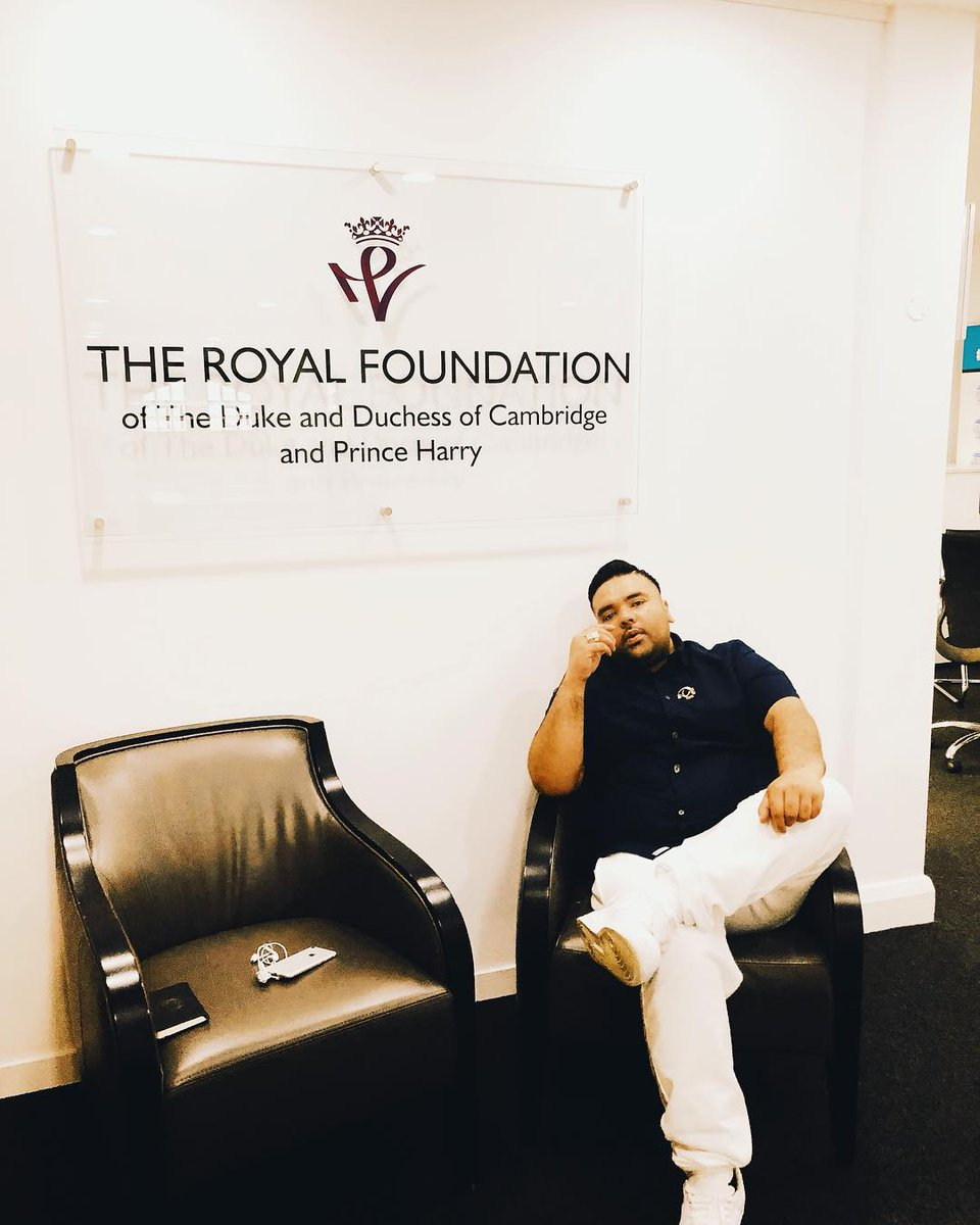 Making a difference together Kensington Palace 🙏🏽 #watchthisspace #royalfoundation