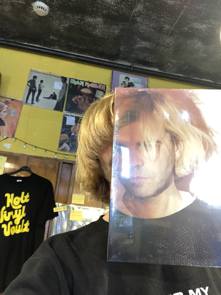 #Sleeveface  Just dropping a copy of As I Was Now at @Holtvinylvault in Norfolk. On sale tomorrow for @RSDUK  Viva Vinyl