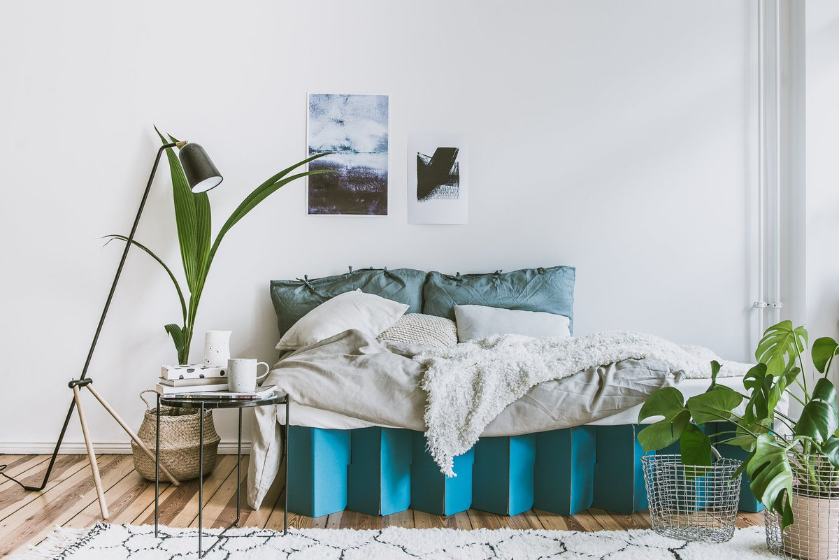 Discover The UKu0027s Most Eco Friendly Bed! Introducing The Room In A Box  Cardboard Bed   Exclusive To Happy Beds #ecofriendly #sleep #cardboardbed  #ecosleep ...