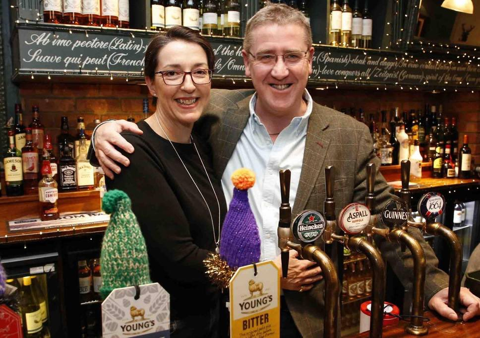 It was my absolute honour to meet this guy today ... Mick, the guv'nor at @TheAlexSW19 - a credit to @YoungsPubs and our broader #beer #industry. His initiatives to combat #loneliness in the Alex's community are simple but ground-breaking- top bloke <br>http://pic.twitter.com/KjZqB55Qn6