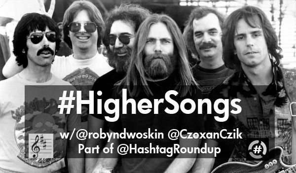 It's #420day, so let's play #HigherSongs...