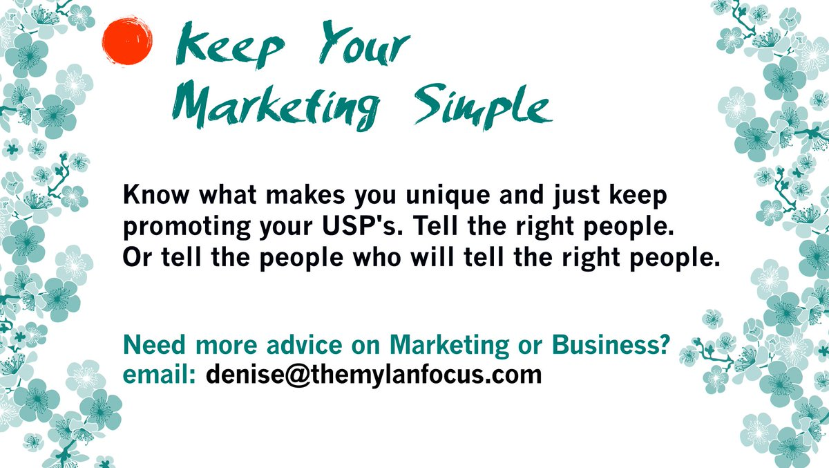 #Marketing Is A Slow Game and Best Kept Simple - Are you ready to keep going &amp; be persistent? #USP #BusinessStrategy <br>http://pic.twitter.com/FpOD94dcu6