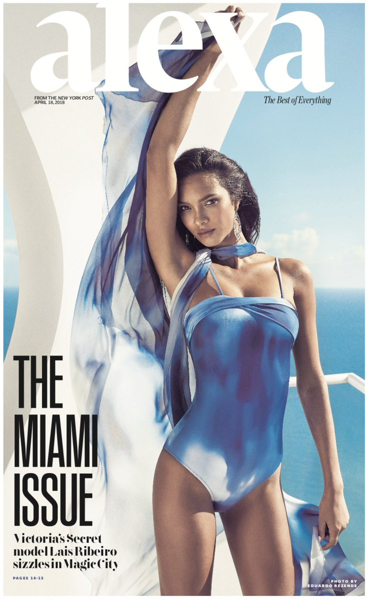 Angel  #LaisRibeiro takes on #Miami for ALEXA NY @nypost   https://www. instagram.com/p/BhzTcYPHebL/  &nbsp;  <br>http://pic.twitter.com/rxHEEqEe0v