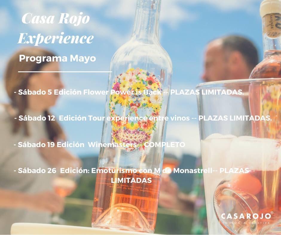 Te mereces lo extraordinario y lo sabemos...  Próxima #CasaRojoExperience Sábado 5 de Mayo Reservas: bit.ly/VisitaCasaRojo  968 15 15 20 | enoturismo@casarojo.com  #enoturismo #vino #Murcia