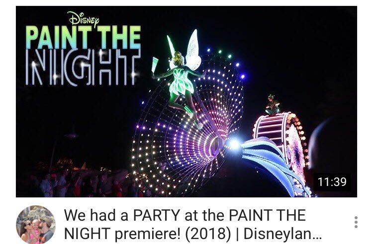 https:// youtu.be/6AjNx55Q-98  &nbsp;   NEW VLOG  Paint The Night has RETURNED TO DISNEYLAND!!! Come join our Paint The Night Party  #Disneyland #AlopeciaAwareness #DCA #PixarFest #PTN #PaintTheNightParade #Parade #DisneyVlog #DisneyFamily #YouTube #Vlog #FamilyVlog<br>http://pic.twitter.com/VTmVJQ8vsn