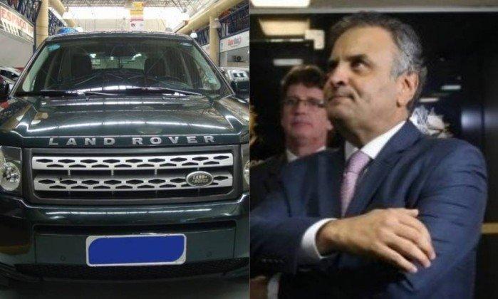 Blitz da Lei Seca revelou que Aécio usava Land Rover em nome de rádio citada por Joesley. https://t.co/5hFDiNLz96