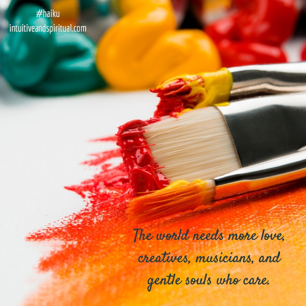 The creatives and the think-out-of-the-box people are the ones who have given us beautiful art, music, inventions, and even change. #changeisgood #creativity <br>http://pic.twitter.com/KTl92x4MqF