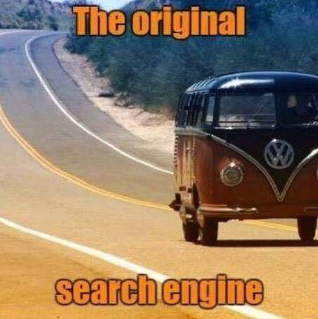 """Way before Yahoo, or Google battled over the Internet, b4 AOL alerted us to mail; this was the original """"All We Needed OldSkool #SearchEngine."""" I need to take a #VanLife type road trip soon.  <br>http://pic.twitter.com/jEEPwuucY4"""
