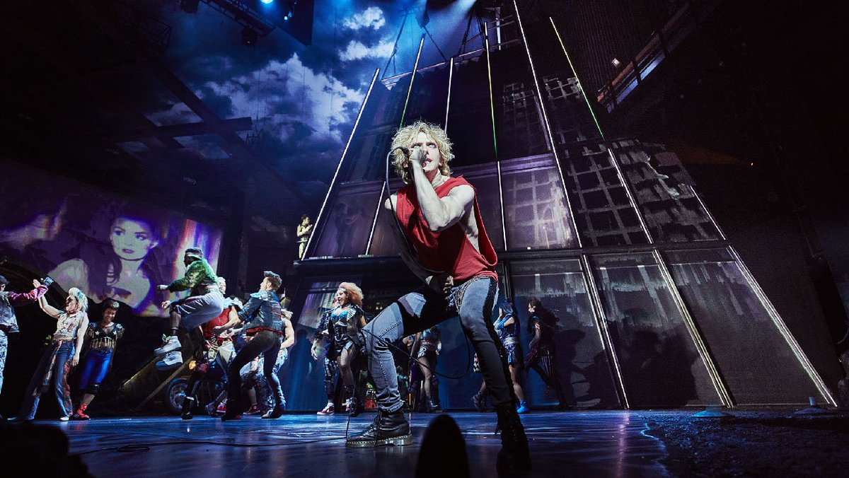 Theater Review: Jim Steinman reshapes Meat Loaf's smash albums into a 'Peter Pan'-inspired glam-metal rock opera in 'Bat Out of Hell: The Musical' https://t.co/q9E5bsIdx6