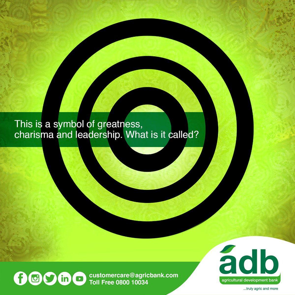 Adb Ghana On Twitter The Chief Of All Adinkra Symbols What Is