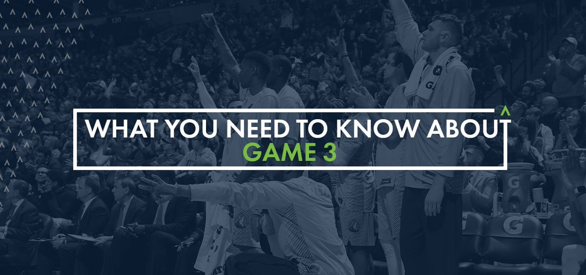 Everything you need to know for Game Three » https://t.co/3mSw0VoOqb