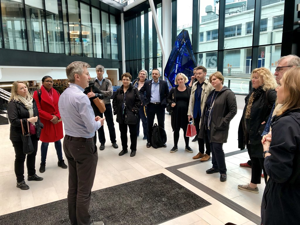 The #intled @CBIE_BCEI #Norway Collaboration Mission inspiring visit to @MediaCityBergen learning about @ncemediabergen work on #AI, graphics, visualization, digitalization, broadcast and television technology &amp; gr8 meeting @infomedia_uib about integration w @MediaCityBergen<br>http://pic.twitter.com/hELT1tmZ3c