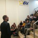 Danas u organizaciji @CEDSerbia pričamo o iskustvu Manuel, ekspertkinje za Kreativnu Evropu, koja predaje na nekoliko fakulteta i ima iskustva u radu sa civilnim društvom i otvorena je za pitanja publike 👇