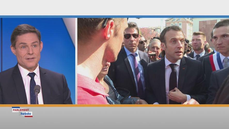 .@philippedallier : 'Si le Président multiplie les déplacements et les interviews, c'est certainement qu'on sent du côté de l'Élysée que la grogne monte dans le pays' #ParlementHebdo