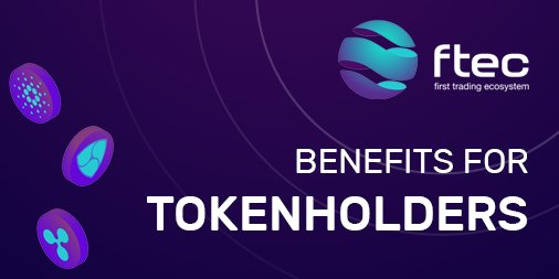 BENEFITS FOR TOKENHOLDERS  Advantages of using FTEC token and special offers for Token Sale participants.  More detailed information you can find in the special document:  https:// ftec.io/en/token-holde rs &nbsp; …   #ICO #BTC #ETH #Technology #Invest #Trading #Bot #Crypto #Cryptocurrency<br>http://pic.twitter.com/dEsv1Aphx9