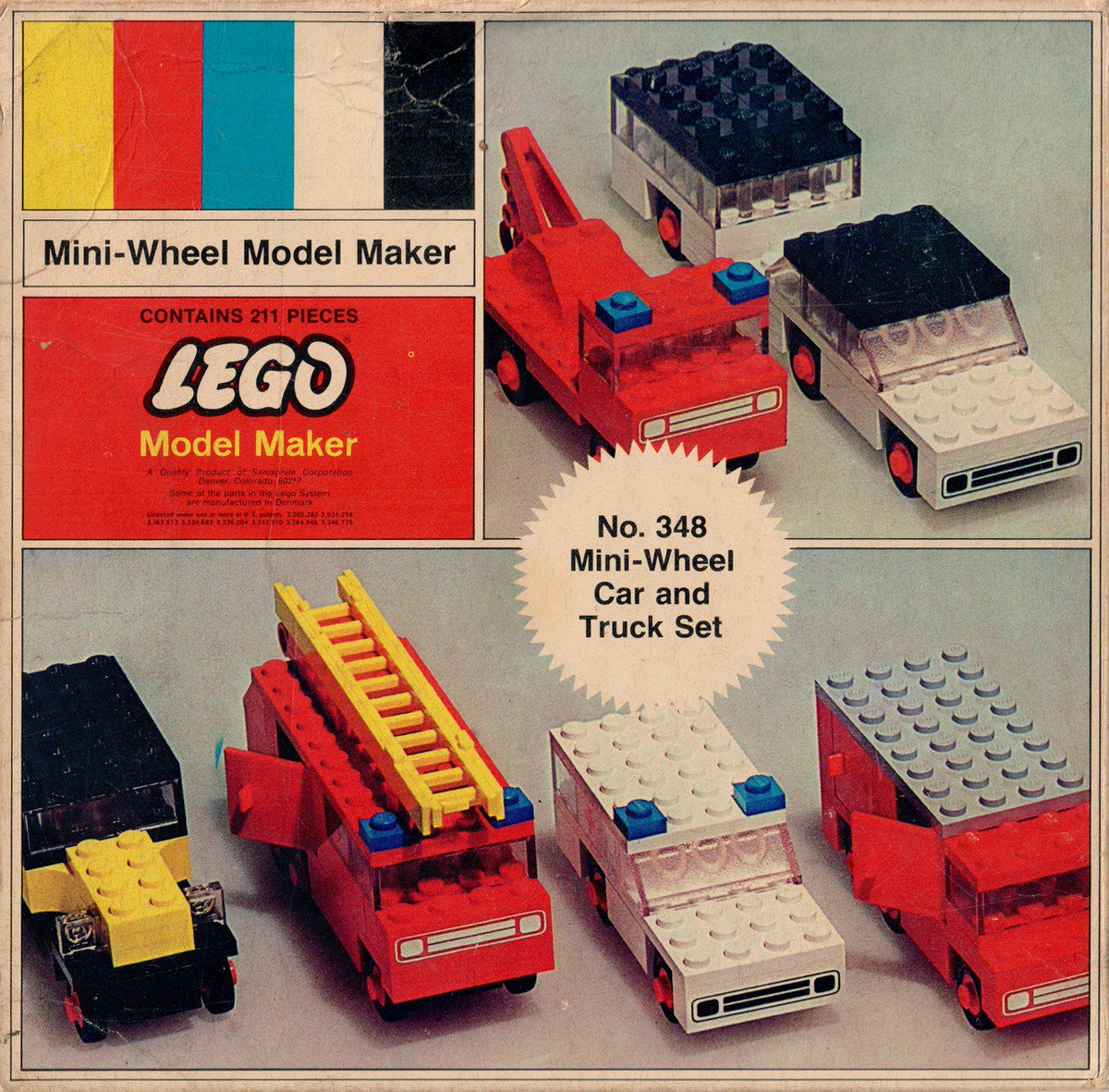 This was my #LEGO when I was young dammit....an I liked it that way!! #70s  Mini-Wheel Car and Truck Set, 1970<br>http://pic.twitter.com/nOfSpVWMdA