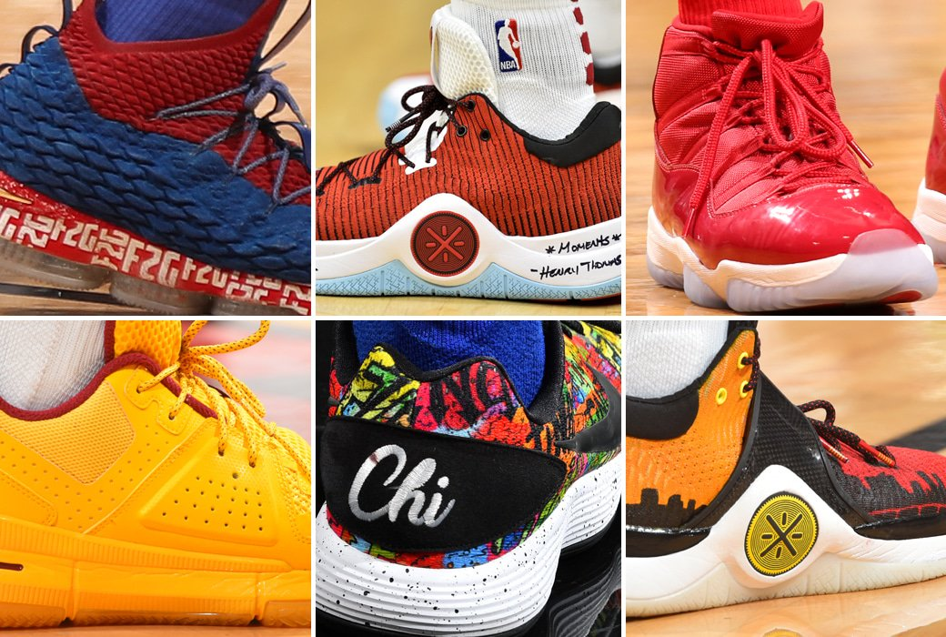 1294b722a6e finao hyperdunks custom f2g lebrons and a trio of li nings were among  thursday s best