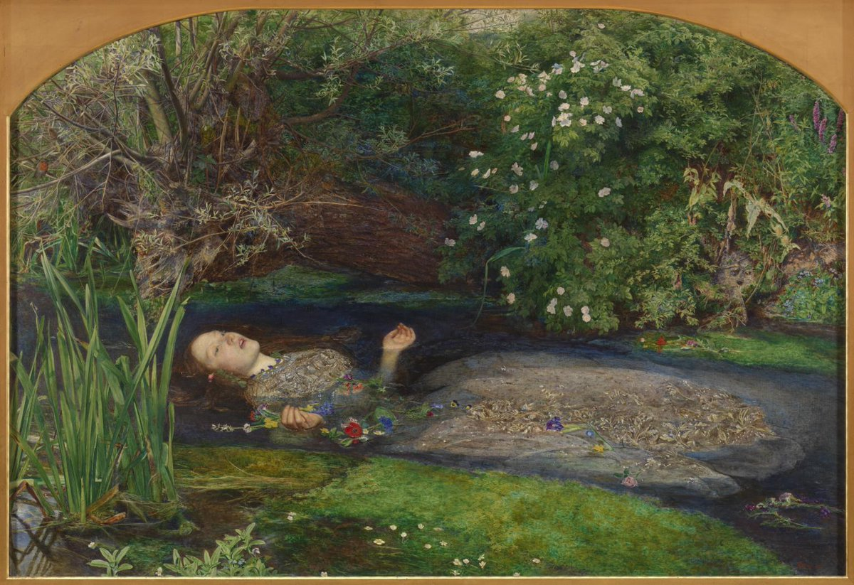 Thanks to everyone who came to my talk at @Tate Britain today, what a perfect day to talk about Ophelia, Hamlet and Elizabeth Siddal, more than a muse for so many iconic #PreRaphaelite paintings, she was also an artist and poet herself #Ophelia #Hamlet #Millais #Art<br>http://pic.twitter.com/BfjnfkyJtD