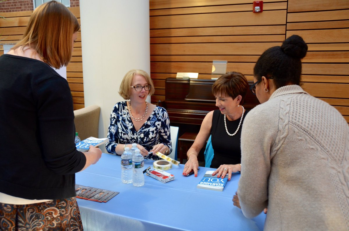"On Wednesday, #Gillings had a full house at an author signing for the new book, ""Remember Who You Are."" Paula Brown Stafford (L) and Lisa T. Grimes shared life lessons on balancing high-powered careers, family and more. 📖 https://t.co/o8spPqhZ72"