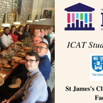 Great meeting in SJH CRF today on a sunny day with current and incoming #ICAT Fellows, thanks to the fantastic speakers Padraic Fallon, David Robinson and members of SJH CRF! @TrinityMed1 @tcddublin