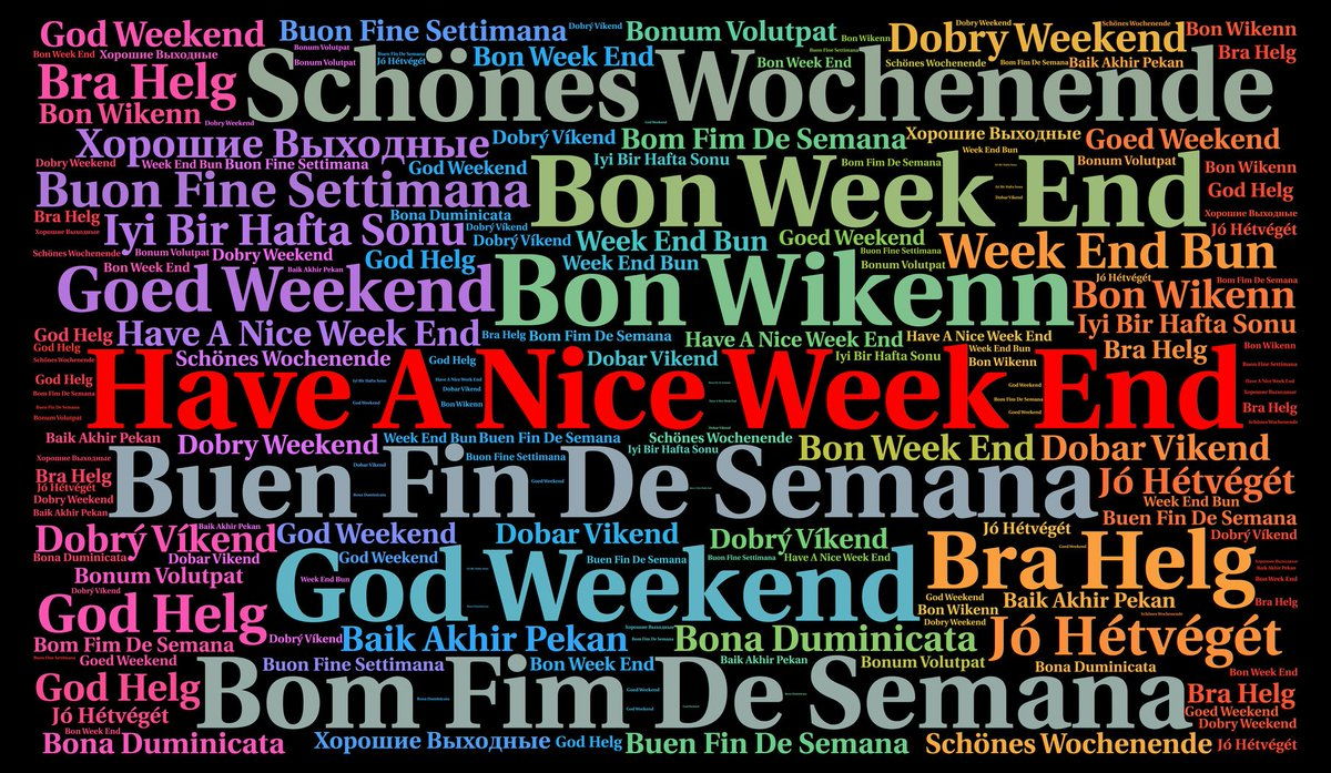 Islinguists On Twitter Have A Nice Weekend Today Is Friday Which