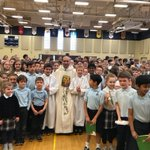 Image for the Tweet beginning: Friday morning all school Masses