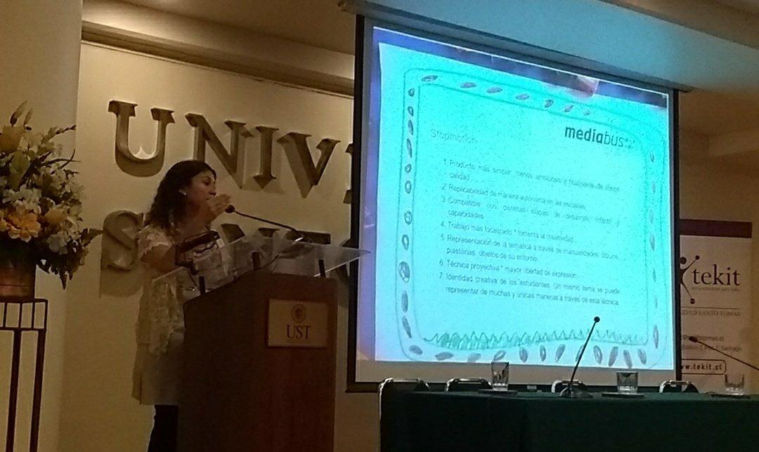 Verónica Silva de #FundaciónMediaBus en #sociedaddigital conferenciadigital.wordpress.com/acerca-de/