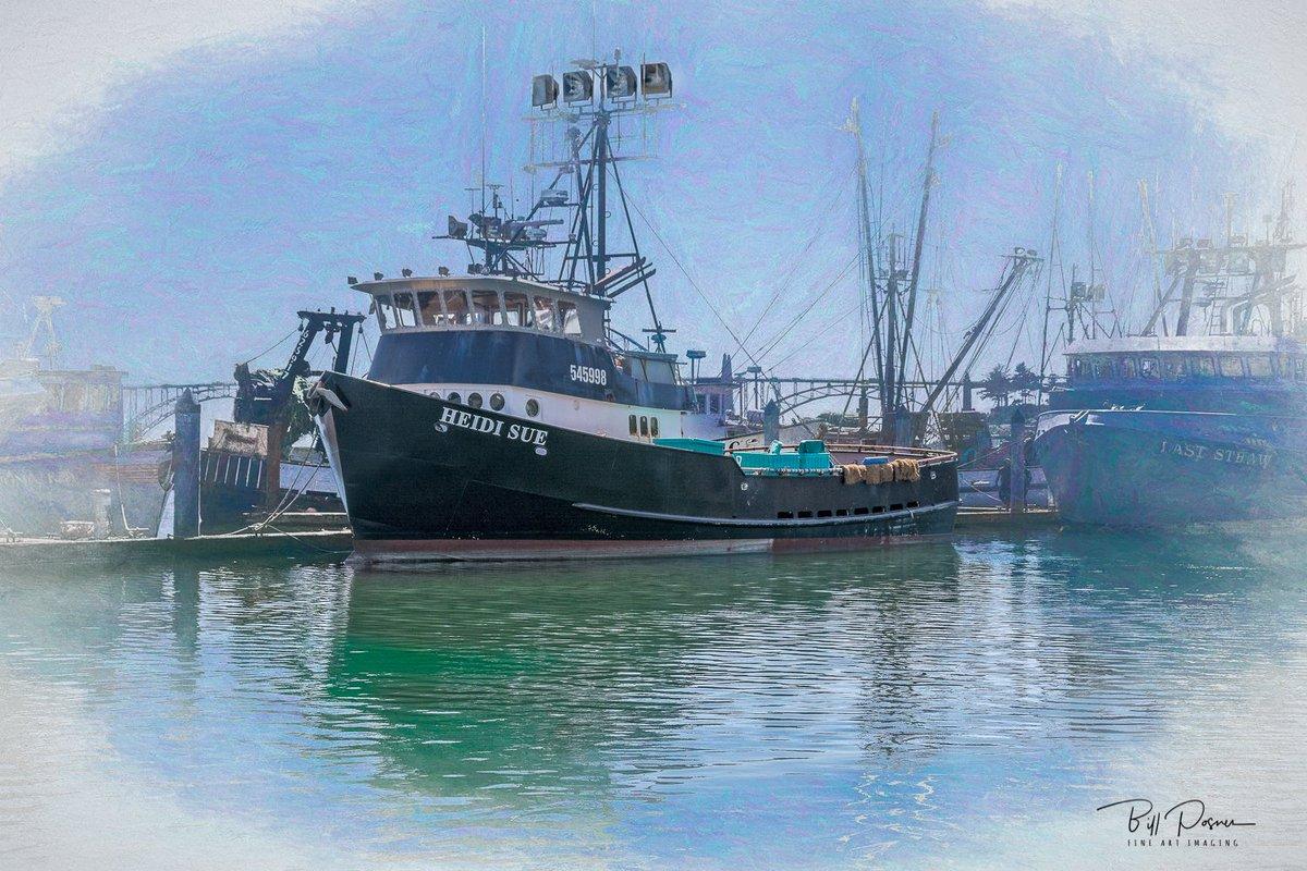 F/V Heidi Sue at port in Oregon Details:  http:// bit.ly/2HhNqqn  &nbsp;   --  #Heidi #Ocean #Orego #boat #coast #commercial #fishing #harbor #industry #nautical #newport #outdoors #pier #river #sea #seashore #ship #shipment #sky #vehicle #vessel #water #watercraft #interiordesign #Artist<br>http://pic.twitter.com/LwGVdsNi67