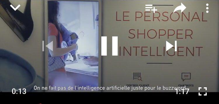 [Teaser] «on ne fait pas de l'intelligence artificielle juste pour le buzzword»  #AIPARIS 2018, les 11 et 12 juin prochains, Cité de la Mode et du design #IA @AI_Europe   https://t.co/cz7SZBADro